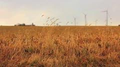 Wind Turbine Wide 59.94 720 - stock footage