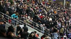 Stadium Crowd 7 (Goal) - stock footage