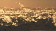 Winter City Sunrise 03 Stock Footage