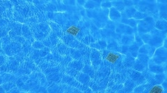 Pool Filters With Transparent Water (HD) Stock Footage