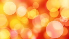 Red slowly moving lights loop background Stock Footage