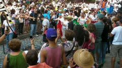 Stock Video Footage of San Juan - San Sebastian Festival - Puerto Rico Jan 2012-4