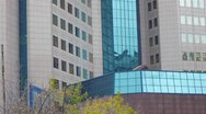 Modern office building Stock Footage