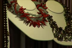 Beaded Necklace Stock Footage