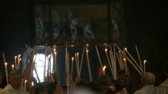 Saintes Maries de la Mer pilgrimage Stock Footage