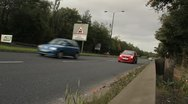 Stock Video Footage of Cars on Dual carriageway