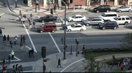 "Stock Video Footage of Areal view from ""the Americana on Brand"" to Brand Blvd"