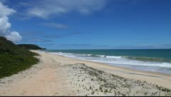 Beach in Arraial d'Ajuda, Brazil Stock Footage