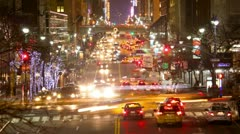 Urban traffic Stock Footage