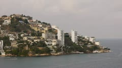 Acapulco Bay Condos (HD) Stock Footage