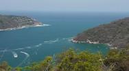 Puerto Marques Bay Mexico (HD) Stock Footage