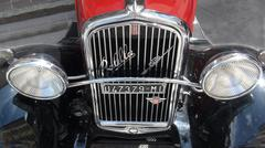 Fiat Radiator.jpg Stock Photos