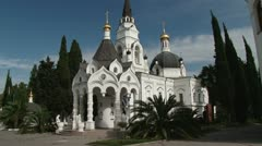 Saint Michael's Cathedral, Sochi Stock Footage