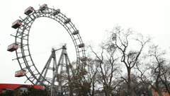 Stock Video Footage of Riesenrad in Vienna, Austria