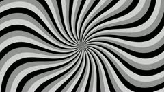 Spiral Sunbeams Loop Stock Footage