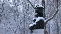 Snow hetman 2 Stock Footage