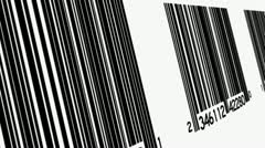 Bar codes Looping Animated Background - stock footage