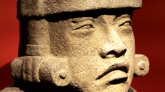 Olmec Head Stock Footage