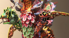 Alebrije Dragon Stock Footage