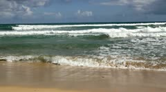 Beach waves - stock footage
