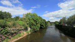 The Famous River Boyne, Ireland GFHD Stock Footage