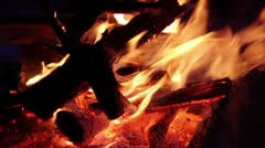 Bonfire Stock Footage