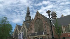 Amsterdam Old Town Stock Footage