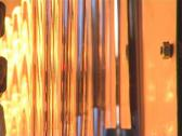 Closeup of warm plastic for PET bottle production. Stock Footage