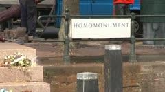 Homomonument Stock Footage