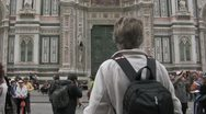 Stock Video Footage of Cathedral in Florence, Italy