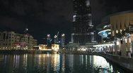 Burj khalifa from bottom till above Stock Footage