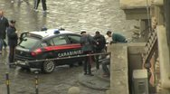 Stock Video Footage of Police in Florence Italy