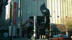 Seattle, Hammering Man Stock Footage