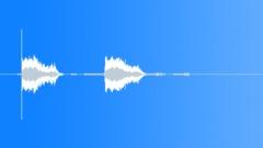 Laser Gun 2 Shots 1 Sound Effect
