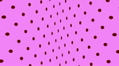 Dots4-PhotoJPG QuickTime Film Kopie Stock Footage
