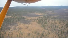 View of BC from a Plane Stock Footage