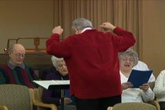 Choir Practice Stock Footage