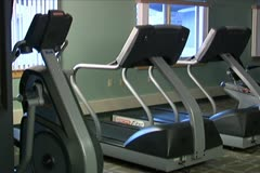 Exercise Room Stock Footage