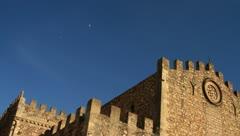 Duomo in Tarmina, Sicily Stock Footage
