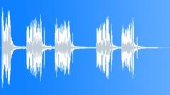 Distorted Guitar Scratches 2 Sound Effect