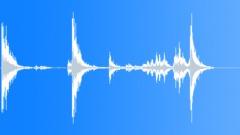 Kitchen Pots Bang 5 Sound Effect