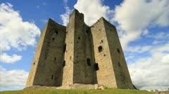 Castle in Europe GFHD Stock Footage