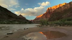 grand canyon landscape - stock footage
