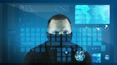 Cyber Crime Stock Footage