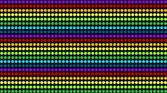 Four Colored Dots Background Loops Stock Footage