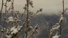 Mountains in winter Stock Footage
