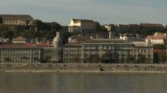Riverside, Budapest - Hungary Stock Footage
