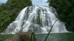 Owaroha Falls Corromandel - stock footage