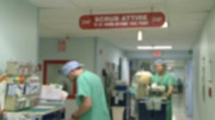 Stock Video Footage of Surgical wing in hospital (1 of 4)