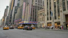 6th Avenue Stock Footage